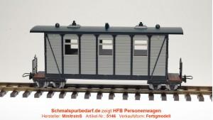 Personenwagen, grau / schwarz
