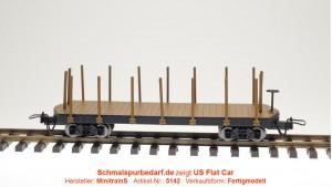 US Flach- / Rungenwagen