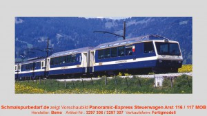 "MOB Ast 116 Steuerwagen ""Panoramic Express"""