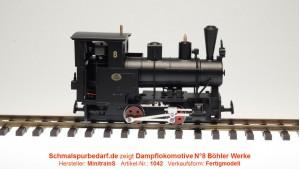 Dampflokomotive N°8 (Böhlerwerke)