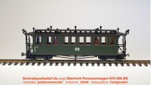 Oberlicht-Personenwagen 970-306 DR