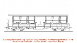 Fakultativ- / Sommerwagen 30 / 31 TB