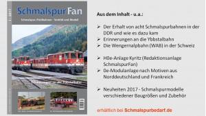SchmalspurFan Ausgabe 1/2017