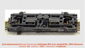 Rollwagen Rf4 R116 DRG, kurz