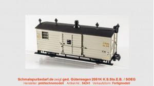 gedeckter Güterwagen 2051K (IK-Zug) SOEG