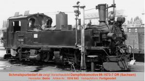 "Dampflokomotive 99.1573-7 ""Teil-Reko"" DR"