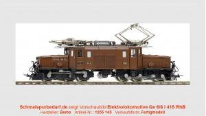 RhB Elektrolokomotive Ge 6/6 I 415