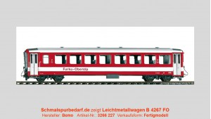 FO Leichtmetallwagen B 4267