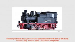 Dampflokomotive 99.6101-2 DR