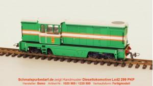 Diesellokomotive L45H als Lxd2 299 PKP