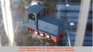 Diesellokomotive Typ Ns2f, blau