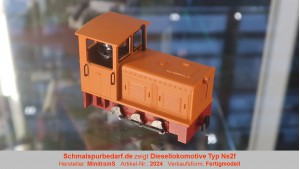 Diesellokomotive Typ Ns2f, orange