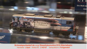 """Diesellok D15 ZB """"Achensee-Schiffahrt"""" // digital"""