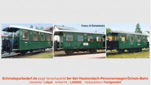 """3er-Set """"Öchsle"""" - Personenwagen"""