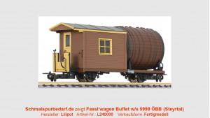 Fassl'wagen Buffetw/s 5999 ÖBB