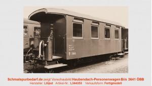 Personenwagen Bi/s 3641-3 ÖBB