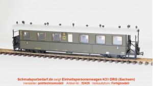 Einheits-Personenwagen K31 (DRG-Zug) SOEG