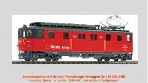 SBB Pendelzug-Triebwagen De 110 000 // digital