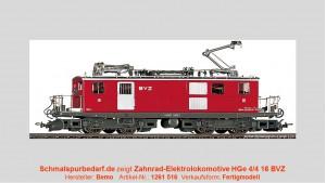 BVZ Zahnrad-Elektrolok HGe 4/4 16 // digital