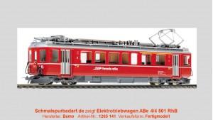 """RhB Tw. ABe 4/4 501 """"Fliegender Rhätier"""" // dig."""