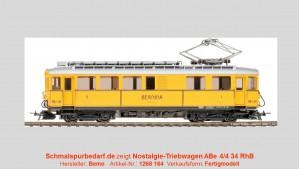 """RhB """"Bernina"""" Nostalgie-Tw. ABe 4/4 34 // digital"""