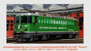 "RhB E-Lok Ge 4/4 II 621 ""Traveco"" // Sound"