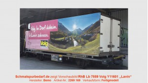 "RhB Lb-v 7859 mit Container ""Volg Lavin"""