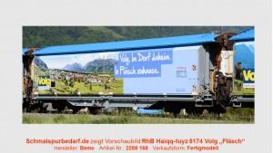 """RhB Schiebwandwg Haikqq-tuyz 5174 """"Volg Fläsch"""""""
