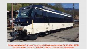 MOB Elektrolokomotive Ge 4/4 8001