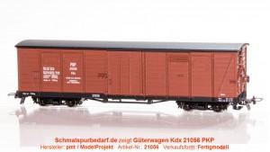 gedeckter Güterwagen Kdx 21056 PKP
