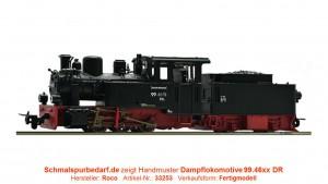 Dampflokomotive 99.4652-6 DR