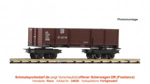 """offener Güterwagen """"97-03-53"""" DR"""