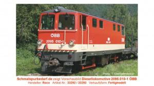 Diesellokomotive 2095.010-1 ÖBB Ep.VI