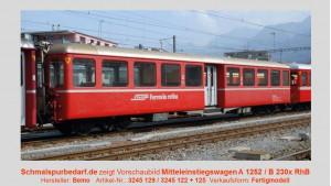 RhB Mitteleinstiegswagen B 2305