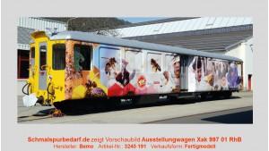 RhB Ausstellungswagen Xak 997 01
