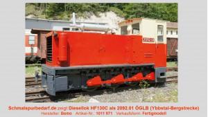 Diesellokomotive Typ HF130C als 2092.01 ÖGLB