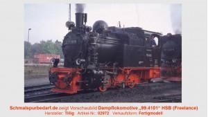 "Dampflokomotive ""99.4101"" HSB"