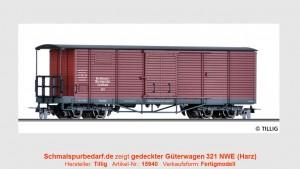 gedeckter Güterwagen NWE