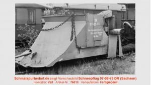 Schneepflug 97-09-75 DR