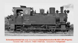 Dampflokomotive 99.4641 DR // digital