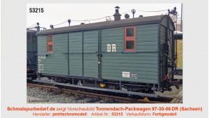 Tonnendach-Packwagen 97-30-06 DR