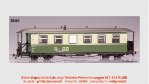 Teilreko-Personenwagen 970-785 RÜBB