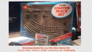 H0e Gleis Starter-Set