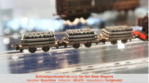 3er-Set Slate Wagons
