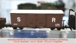 Covered Goods Wagon 48016 SR