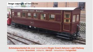 Bogie Coach Ashover Ligth Railway
