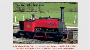Quarry Hunslet 0-4-0 'Alice'