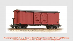 Covered Goods Wagon Lincolnshire Coast LR
