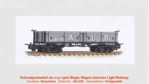 Open Bogie Wagon N°18 Ashover Rly