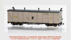 gedeckter Güterwagen K1987 K.S.Sts.E.B.